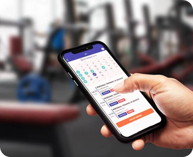 Keep track of PT sessions in real-time
