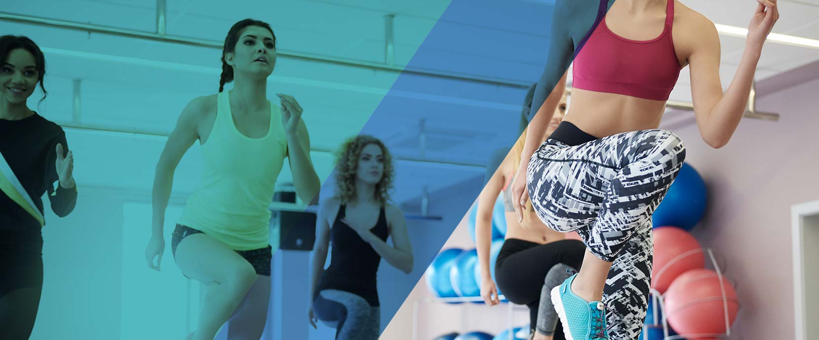 All the features that you need for your aerobic studio