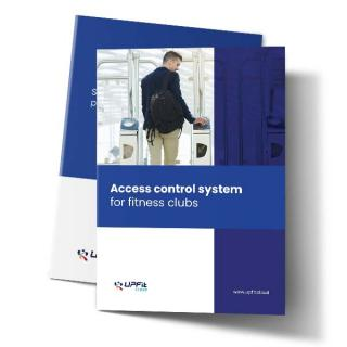 Access control system for gyms and fitness clubs